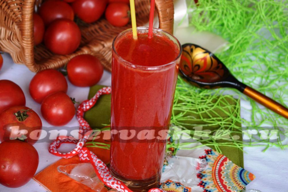 Как сделать из томатного сока томатный соус