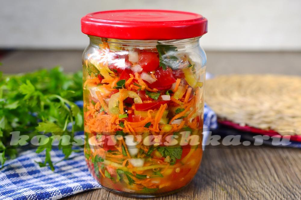 Заправка из моркови и лука на зиму рецепты