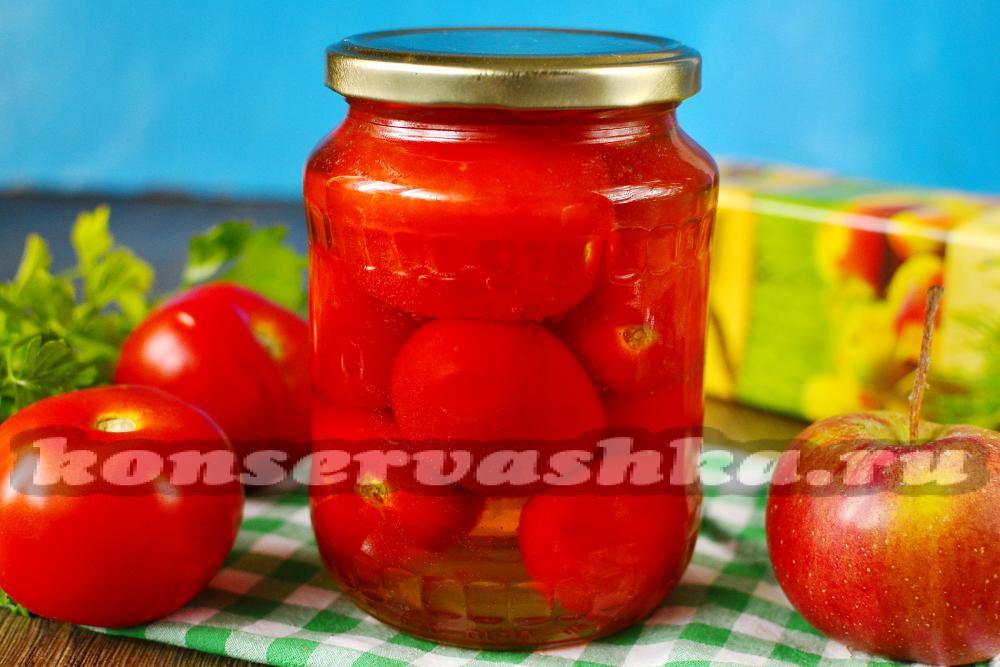 Рецепт помидор с арбузом на зиму