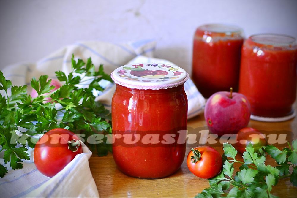 Кетчуп в домашних условиях на зиму вкусный рецепт 58