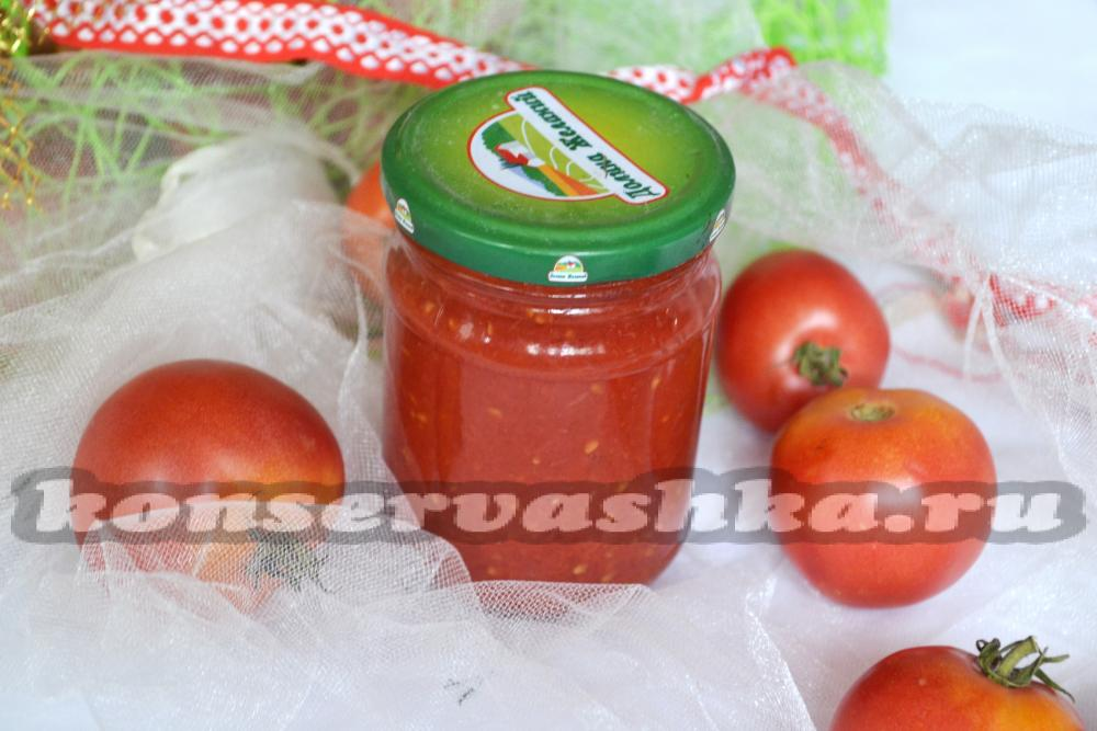 Кетчуп из помидор в домашних условиях без уксуса 375