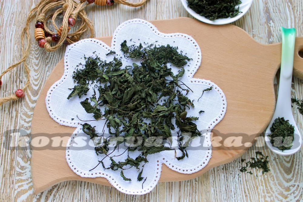 Как сушить мяту в домашних условиях на чай