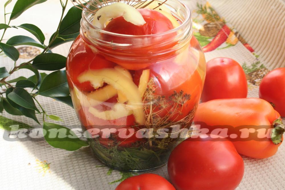 Рецепты помидор без стерилизации