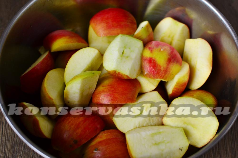33 Повидло из яблок через мясорубку на зиму рецепт