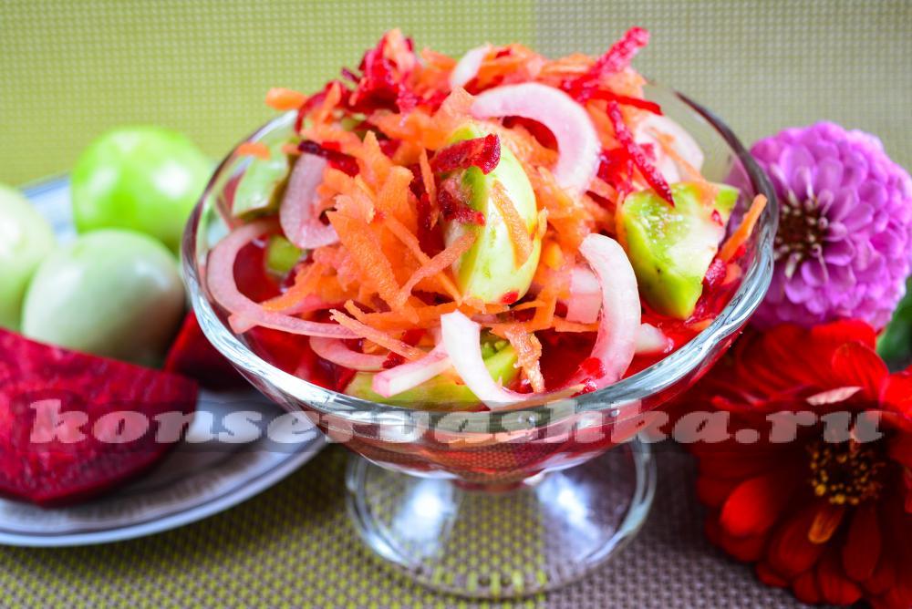Рецепт салата с морепродуктами из осьминогов