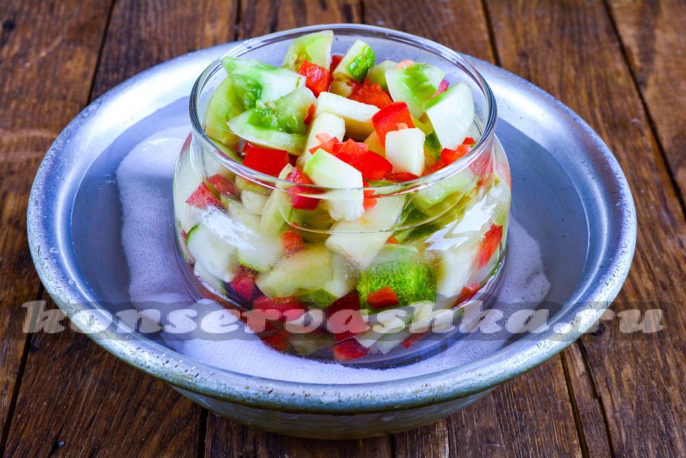 Консервированные салаты фото