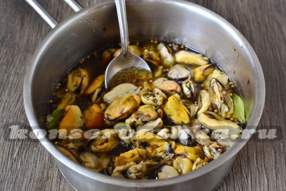 Как приготовить мидии простой рецепт