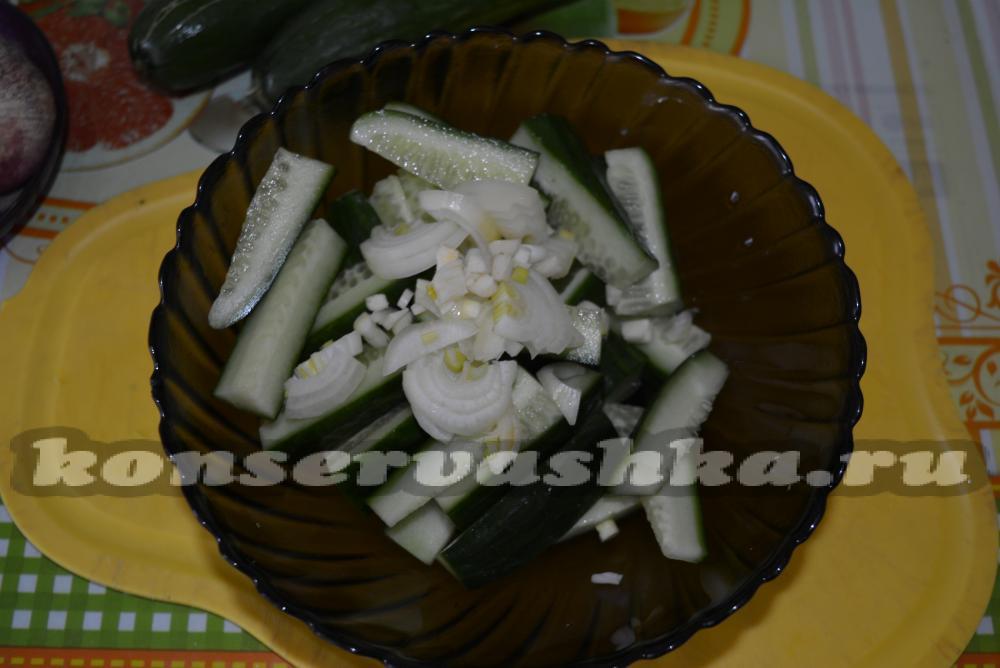 дамские пальчики рецепт фото салат