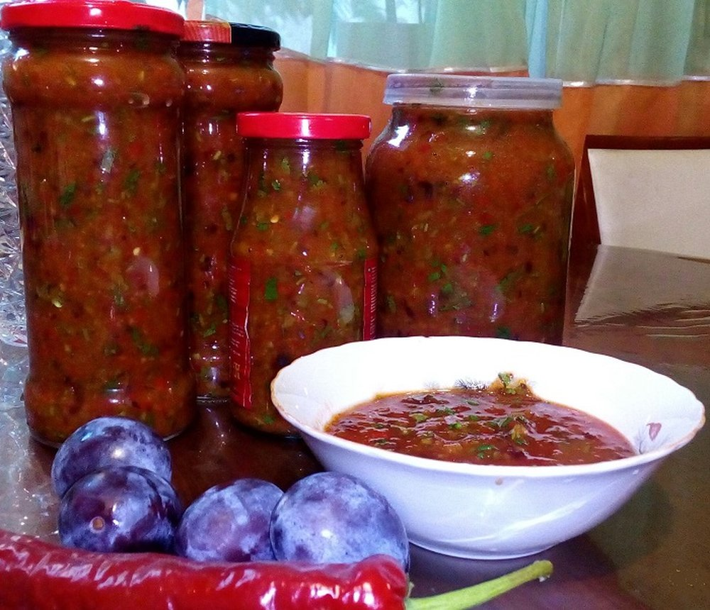 Соус на зиму рецепты пошагово