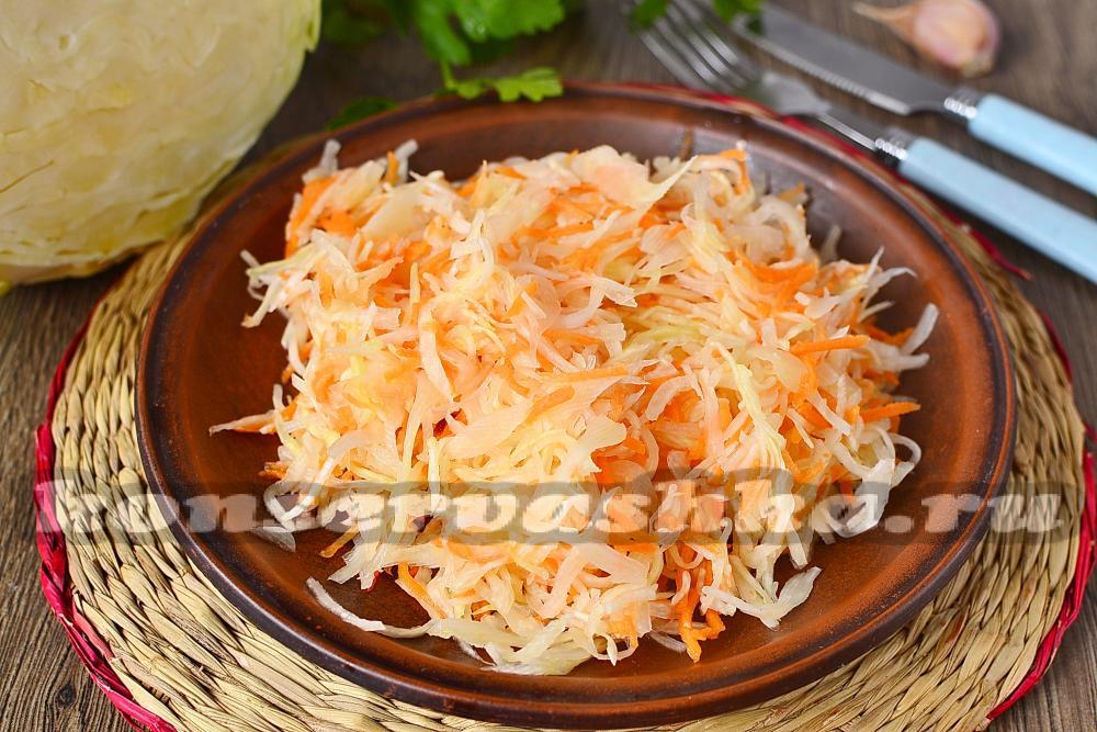 Вкусные рецепты салата гнездо глухаря с фото
