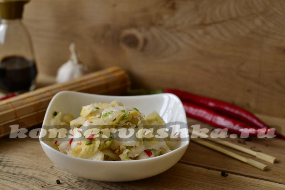 кимчи салат по корейски рецепт
