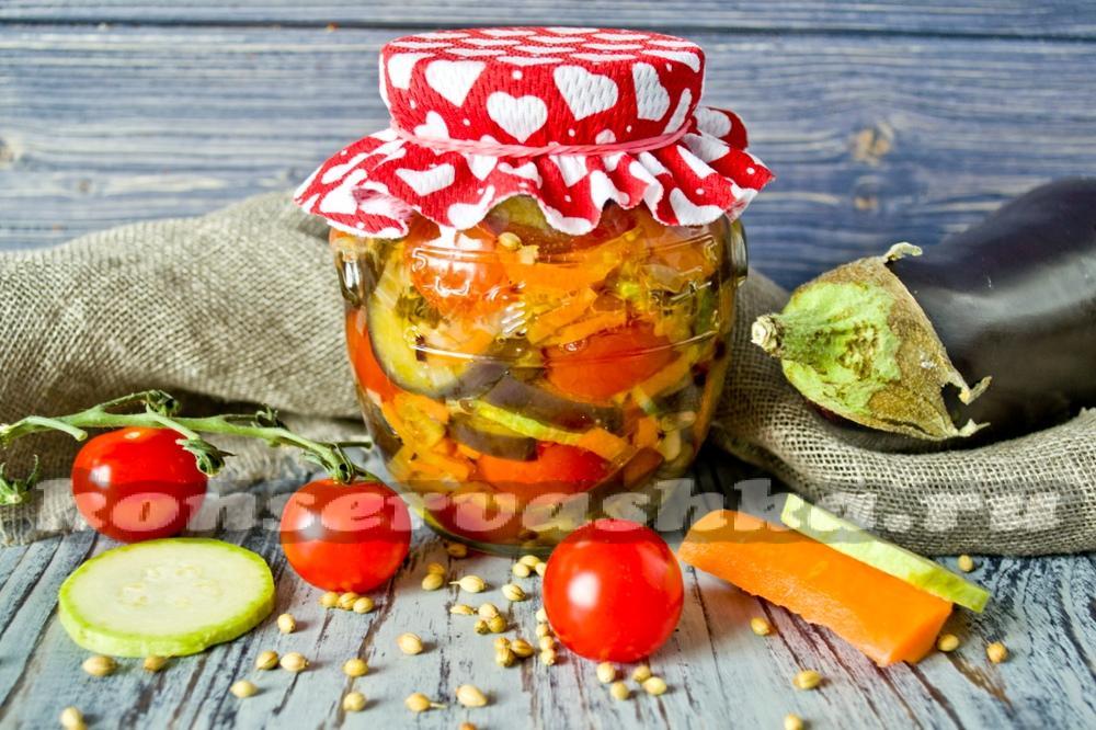 салат с помидорами и чесноком рецепт с фото