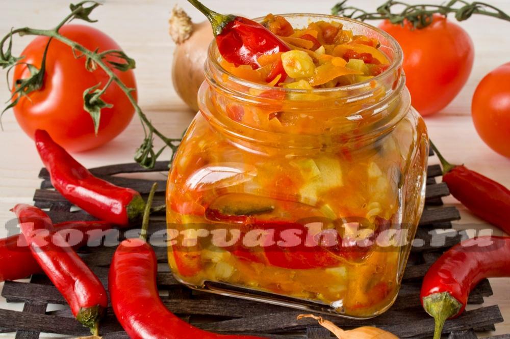 салат лаззат рецепт с баклажанами и