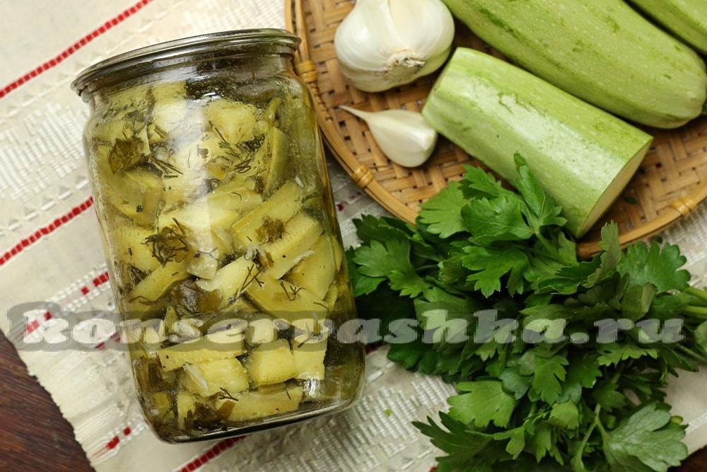 маринованные кабачки на зиму рецепты приготовления