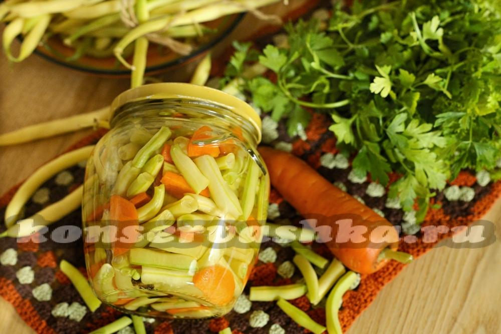 Салат из консервированной стручковой фасоли рецепт с очень вкусный