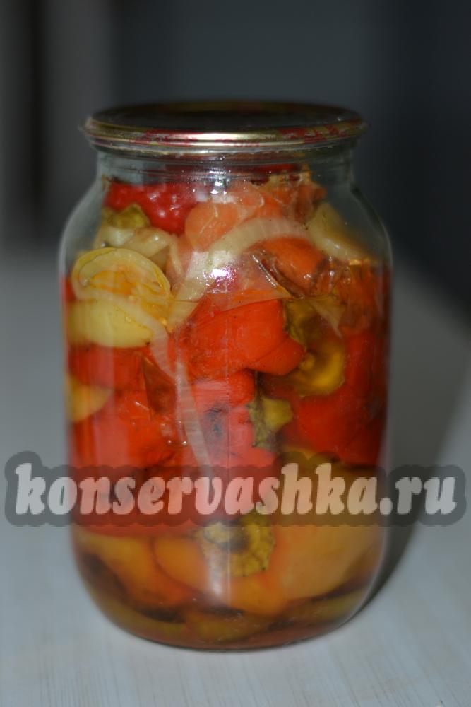 перец жареный целиком на зиму рецепт с фото