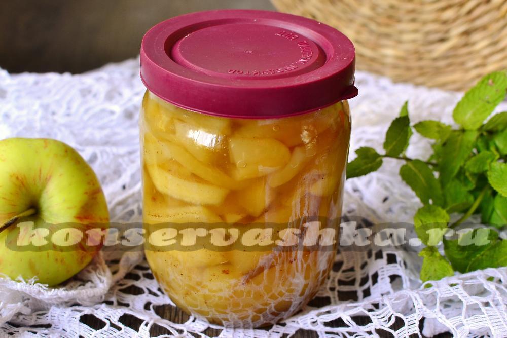 рецепт приготовления яблочного варенья дольками в домашних условиях