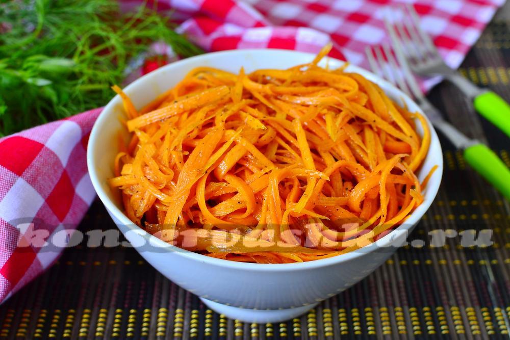 морковь по корейски калорийность: