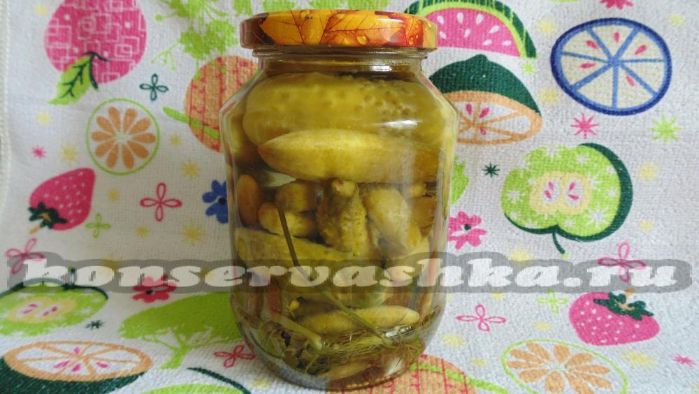 Заготовка огурцов на зиму рецепты с и пошаговым