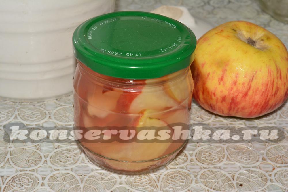 Лучшие яблоки в сиропе на зиму рецепты