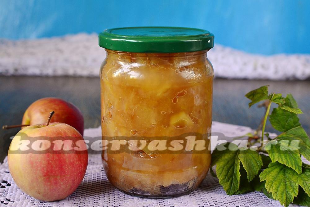 Повидло из яблок пошаговый рецепт