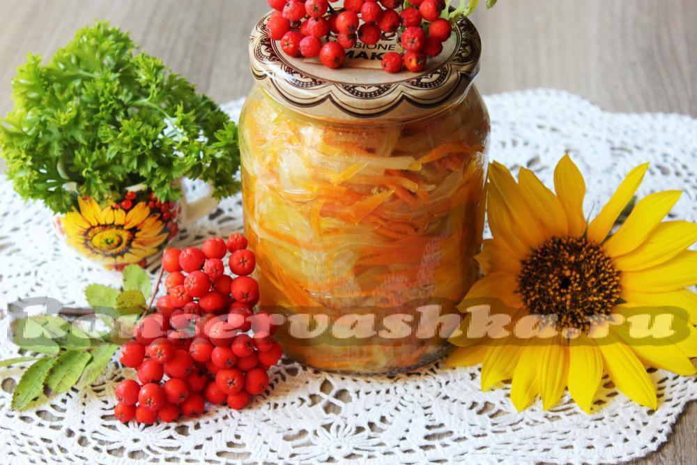 рецепт салата из зеленых томатов на зиму