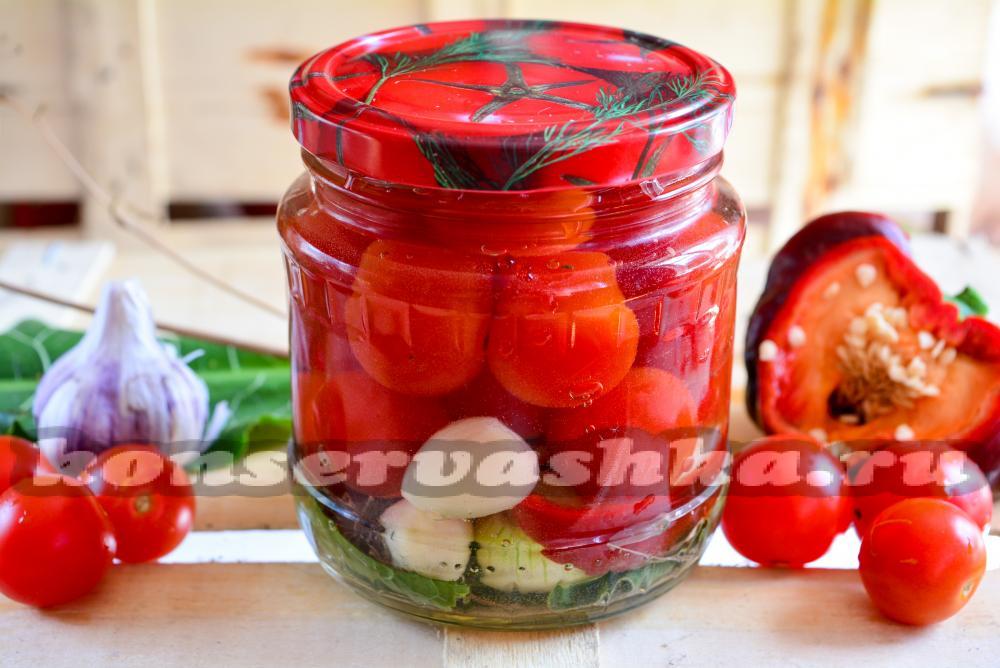 Как сделать заготовку из помидор на зиму