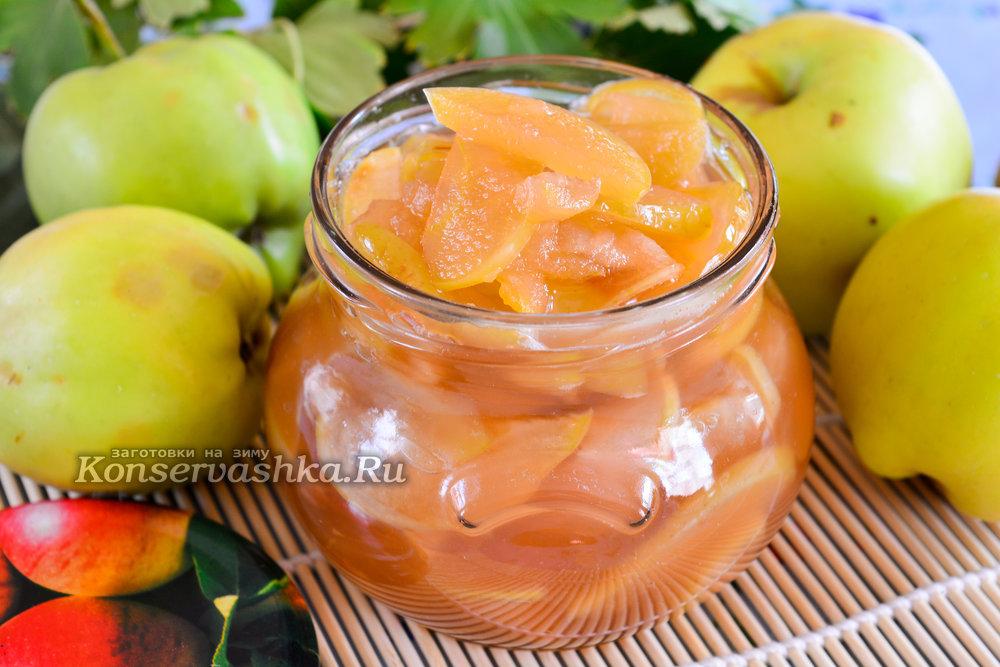 яблочное варенье прозрачное рецепт-хв7