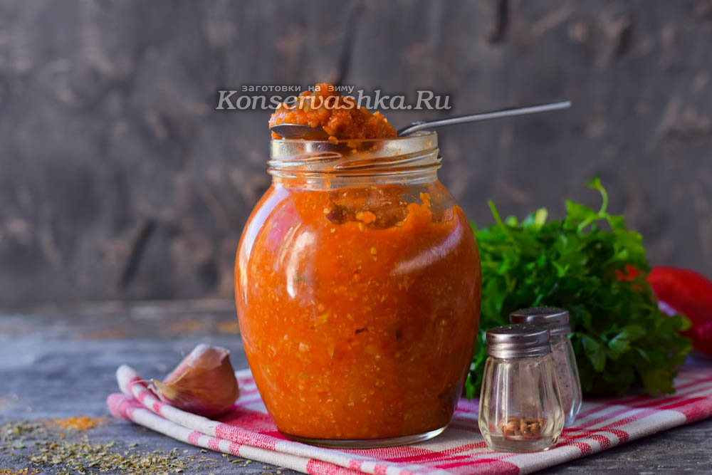 Кабачковая икра с томатной пастой на зиму рецепт с пошагово