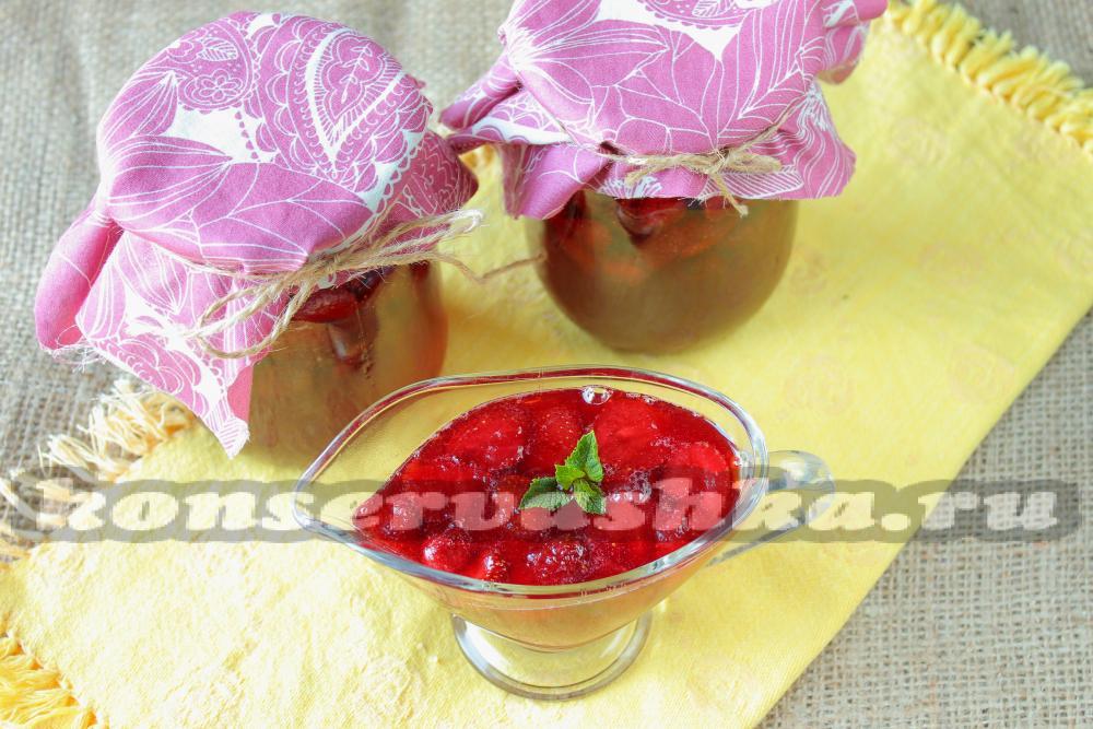 Варенье из клубники пятиминутка рецепт с пошаговый