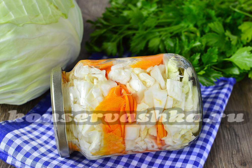 рецепт маринования капусты с аспирином