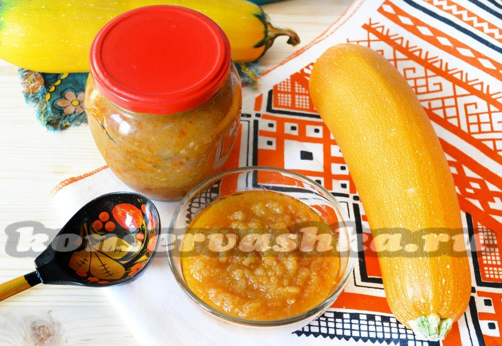 простой рецепт приготовления икры кабачковой с майонезом