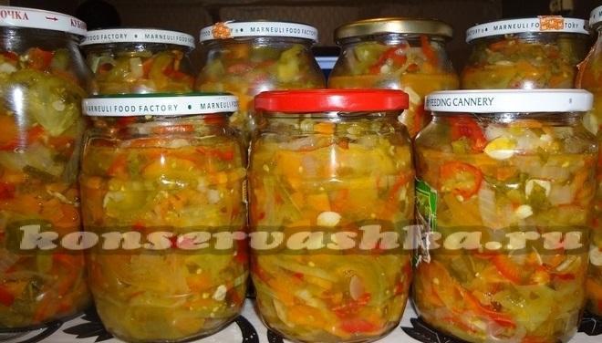 самые простые рецепты салатов из кабачков на зиму