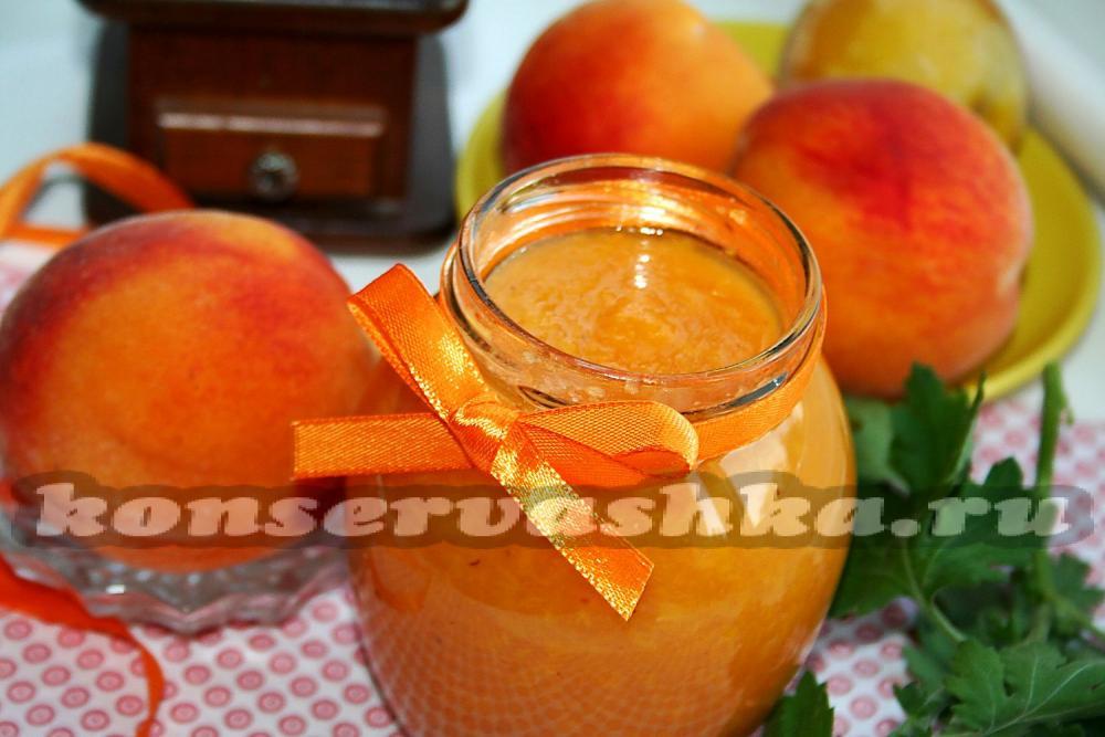 Повидло из персиков на зиму рецепт