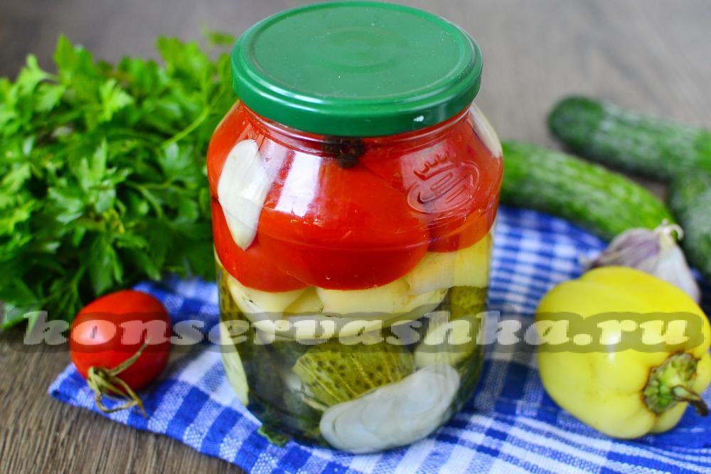 Вкусные салат из огурцов на зиму рецепты