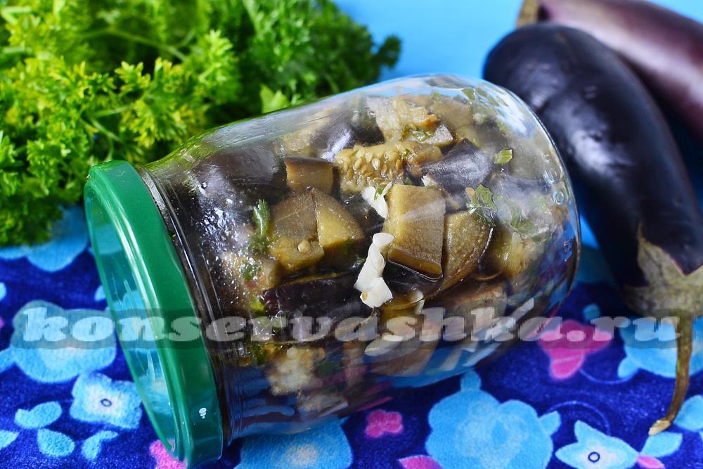 соленые баклажаны фаршированные на зиму рецепты приготовления