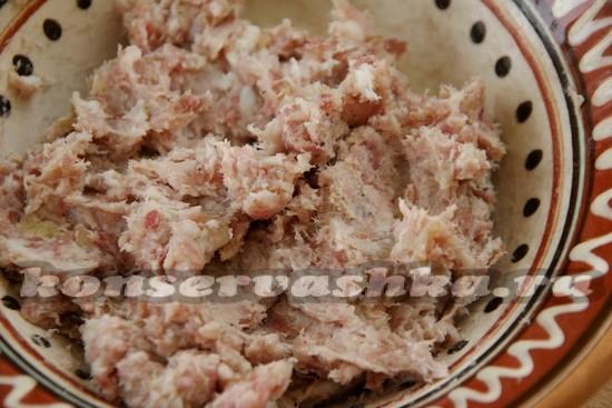 Сало через мясорубку с чесноком рецепт пошагово