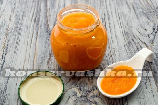 Как сделать пюре из яблок и морковки