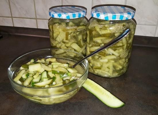 Салат на зиму нежинский с