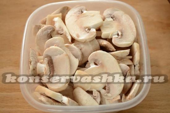 Заморозить грибы домашних условиях