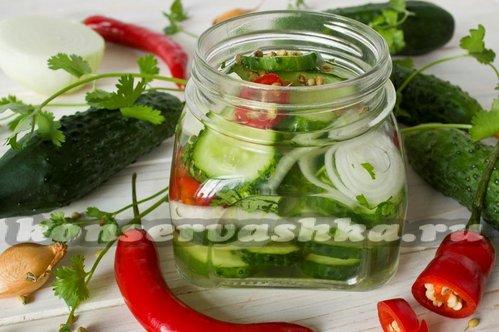 Рецепт квашеной капусты и калорийность